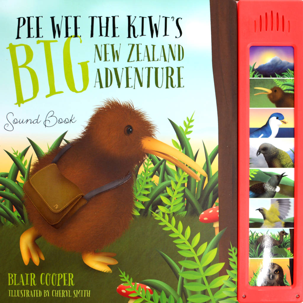 Pee Wee The Kiwi's BIG New Zealand Adventure