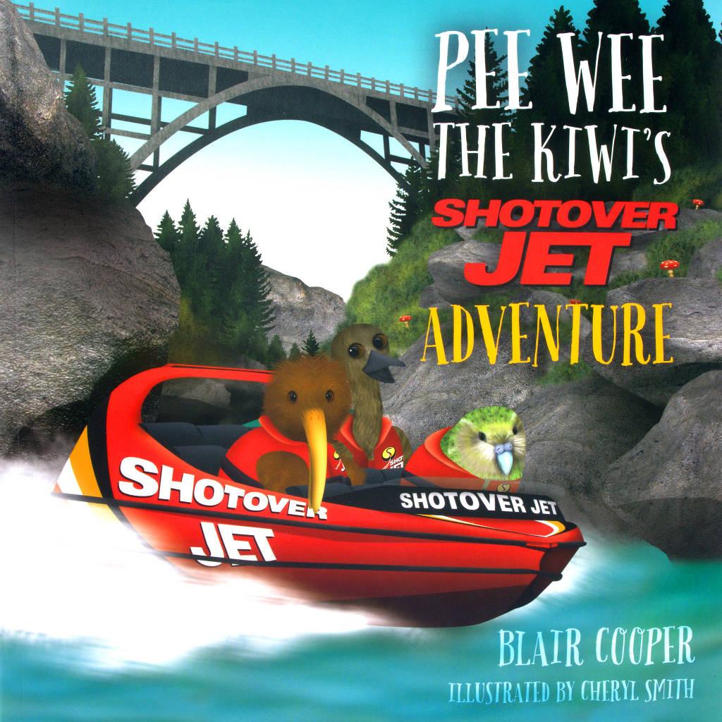 Pee Wee The Kiwi's Shotover Jet Adventure