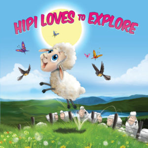 Hipi the Sheep Loves to Explore